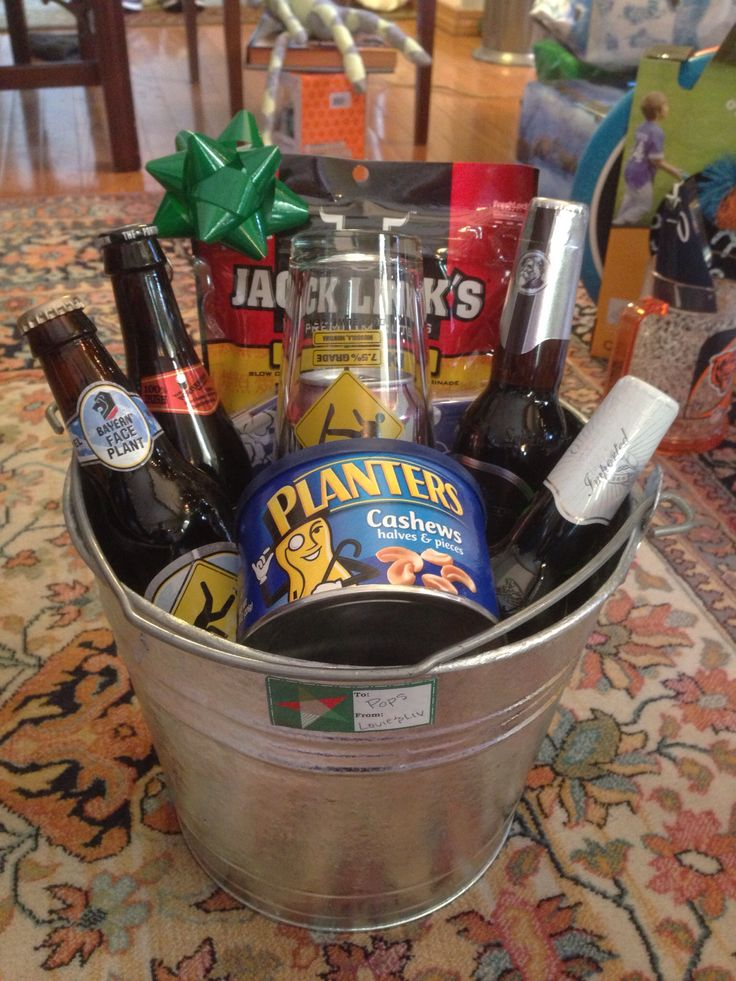 Beer Buckets for the men in my life. Great Christmas present!