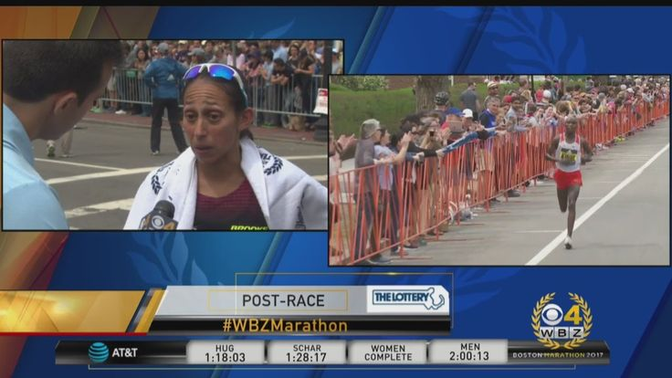 nice Desi Linden Finishes Fourth In Boston Marathon Women's Division Race  American elite runner Desiree Linden, who finished fourth, told WBZ-TV's David Wade she felt great--but she said her competitors were just better....