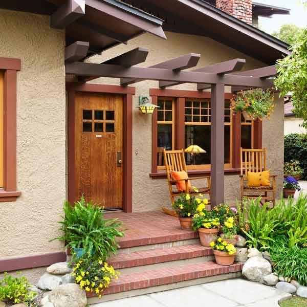 25 best ideas about craftsman front porches on pinterest for Porch renovation ideas