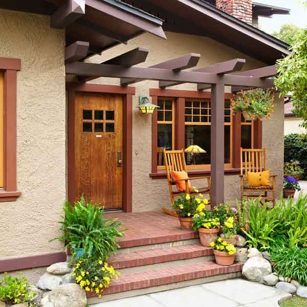 Small Front Porches On Houses: 25+ Best Ideas About Front Porch Pergola On Pinterest