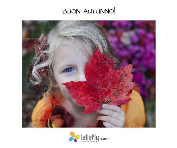 L'autunno è un bellissimo periodo per stare all'aperto con i #bambini : raccogliete le foglie di tutti i colori!