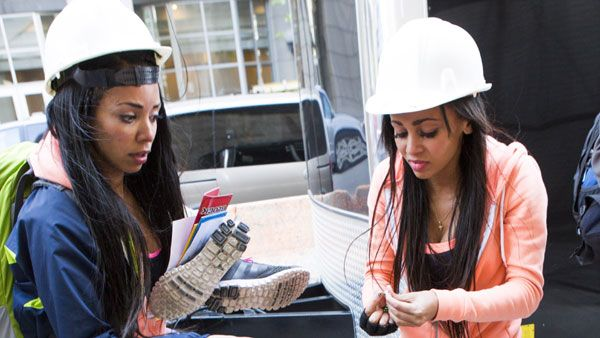 Did the right team win #RaceCDA according to sisters #VanessaMorgan & #CelinaMziray?