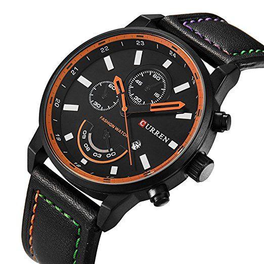 BINZI Dress Men Watch Luxury Quartz Watches Casual Auto Date Analog Sport Wristwatch