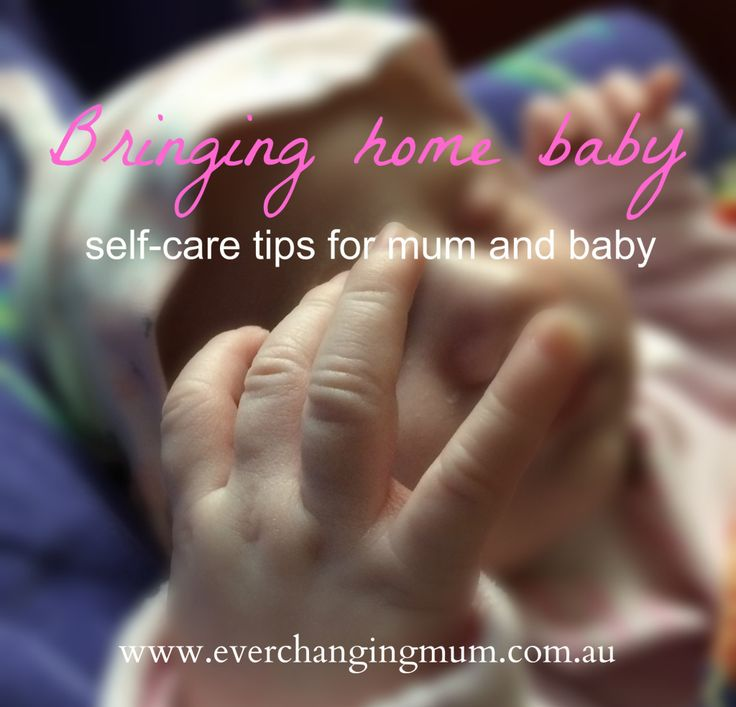 Bringing home baby - Ever-changing Life of a Mum