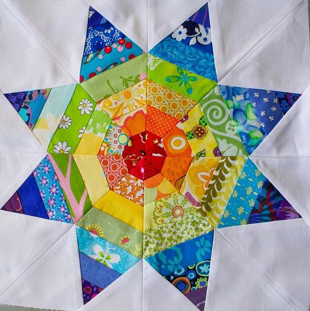 Amazing ~love the colors!Quilt Block
