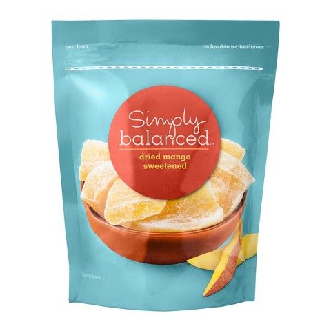 Simply Balanced Dried Mango Sweetened 7oz