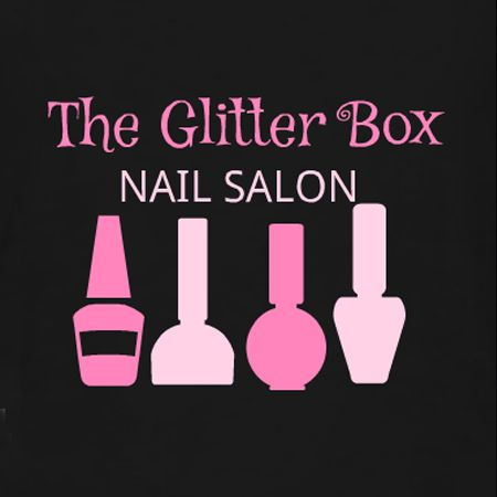 Good Glitter Box Nail Salon T Shirt Template. Customize This T Shirt Idea For