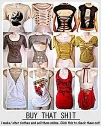 Image Result For Revamp Old T Shirt Cutting Ideas