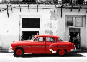 DecoArt24.pl Cadillac, Havana Cuba - fototapeta - BUDYNKI - ARCHITEKTURA - FOTOTAPETY