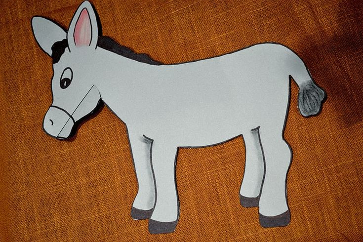 Bible Class Creations: Balaam's Talking Donkey Craft
