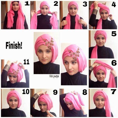 modern hijab styles tutorial