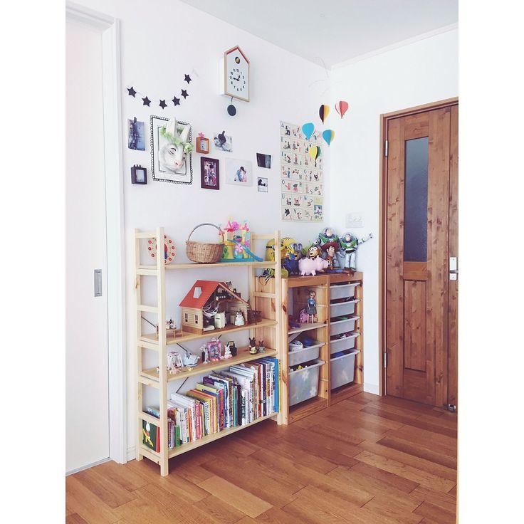 子供部屋/IKEA/無印良品/無垢材/ナチュラル/シンプル…などのインテリア実例 - 2016-08-05 13:09:02 | RoomClip(ルームクリップ)