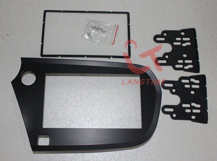 Автомобиль и установка DVD рама, Dvd панель, Даш комплект, Фасции, Радио рама, Аудио рама для Honda Insight ( с левой нарезкой ), 2DIN