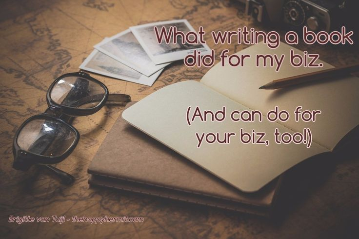 Ever thought about writing a book? In the middle of writing one right now? GO for it!! It can make a world of difference for yourself, your biz, your audience.