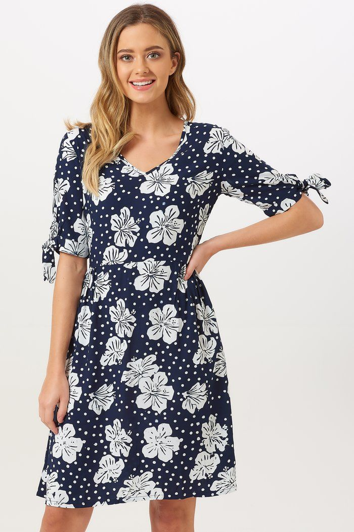 e3d4029ea87 MADDIE HAWAIIAN FLOWERS BATIK DRESS – Sugarhill Brighton | Beauty ...