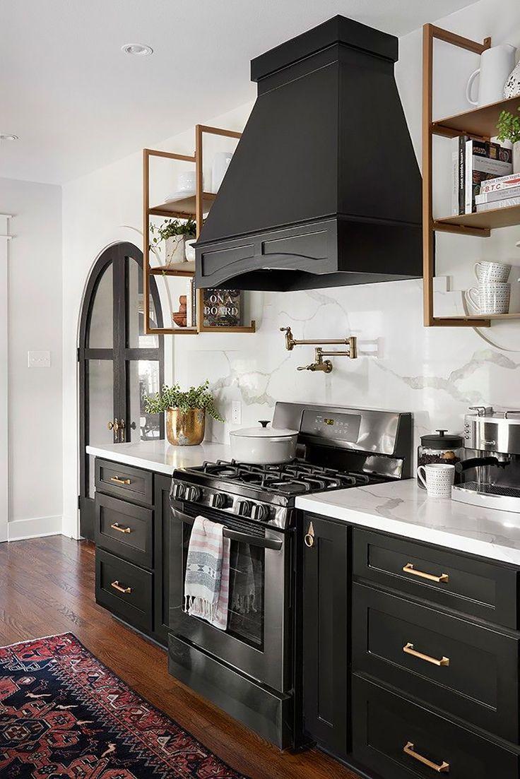 Black Kitchen Inspiration Kitchen Inspirations Interior Design
