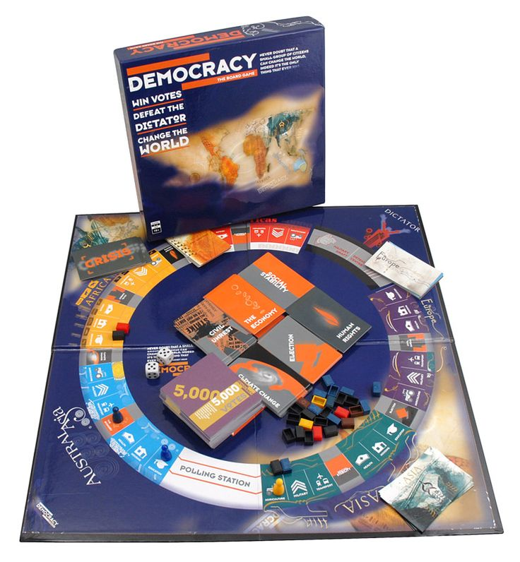 I want this for my classroom!!!  Democracy Board Game. Looks fascinating and totally playable in a history classroom.