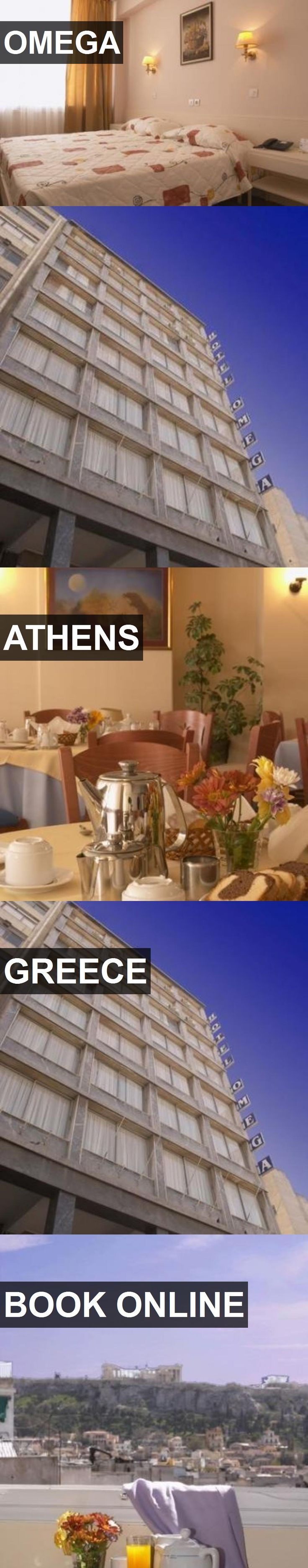 Hotel OMEGA in Athens, Greece. For more information, photos, reviews and best prices please follow the link. #Greece #Athens #hotel #travel #vacation