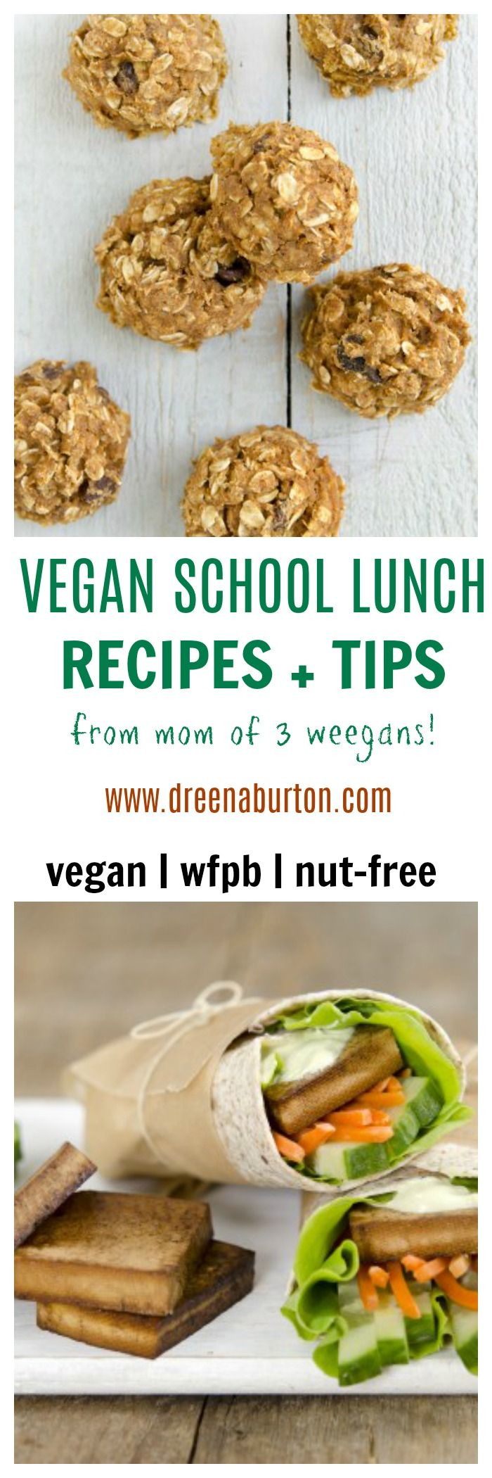 Don't fret about packing healthy school lunches! Use these vegan school lunch recipes and expert tips for easy food prep through the week.