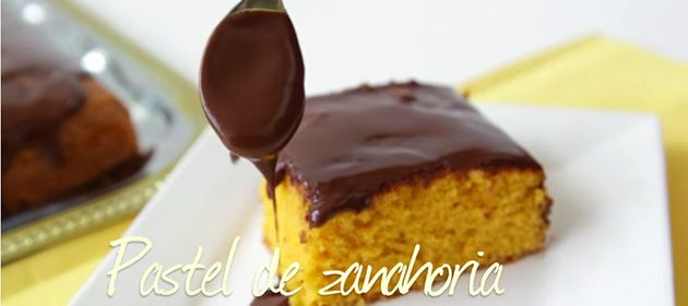 Receta del día: pastel de zanahoria con betún de chocolate