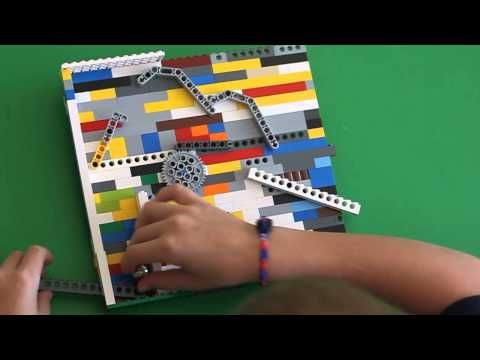 Build a Lego Pinball Game
