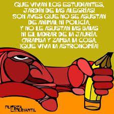 ¡QUE VIVAN LOS ESTUDIANTES! (canción de Violeta Parra con imágenes de luchas estudiantiles en el mundo)