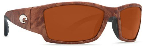 Costa Del Mar Corbina Sunglasses, Gunstock, Copper 580P Lens