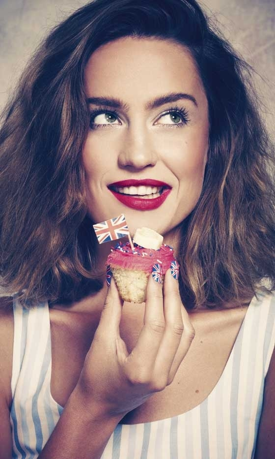 Get Great Union Jack Nails: Hair Styles, Olympic Inspired, Things People, Jack O'Connell, Magazines Union, Nail Art, Union Jack Nails