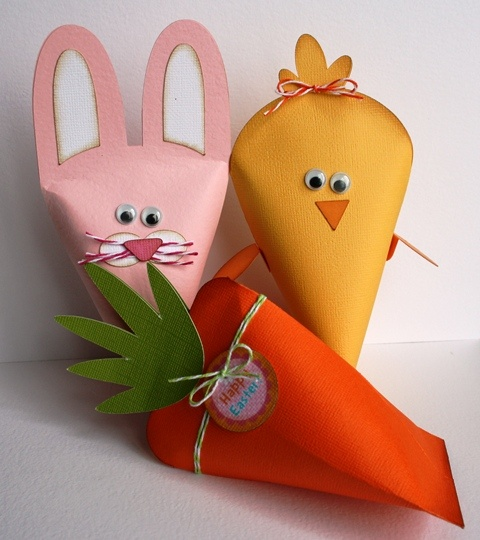 Easter treat bags craftbnb images about easter treat bags and boxes negle Gallery