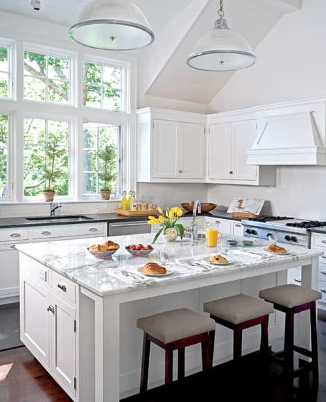 I guess i just like all modern white kitchens for the for Cape cod kitchen design ideas