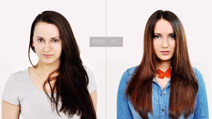 Strzyżenie konturów fryzury z zachowaniem długości włosów / Edukator: Beata Berendowicz