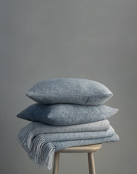 Essentials for breakfast in bed- Mourne Textile Wool Pillows #KMWellLived