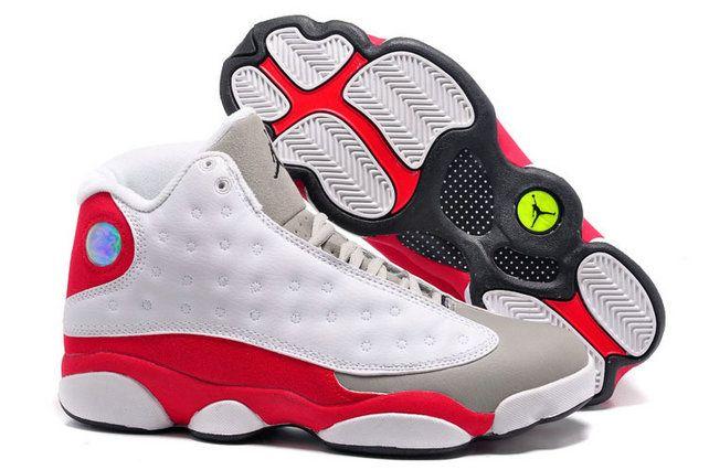 Authentic Cheap Air Jordan 13 Shop with Confidence red white shoe for sale  jordan retro 13