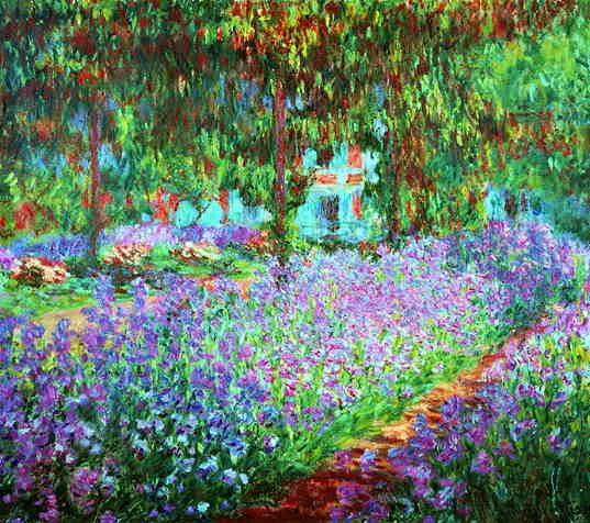 givernyMonet Painting, Monets Garden, The Artists, Claude Monet, Iris, Claudemonet, Artists Gardens, Giverny, Monet Gardens