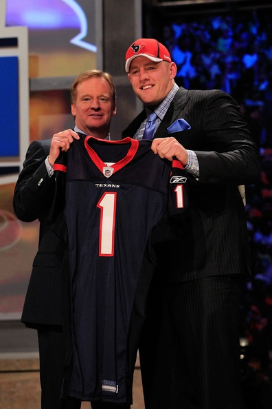J.J. Watt Photo - 2011 NFL Draft