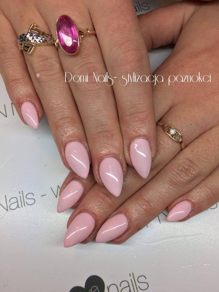 #SPN #SPNnails #SPNlove #paznokcie #nails #inspiracje #inspirations  Builder Clear gel, UV LaQ 506 Nails by Dominika Frąckiewicz