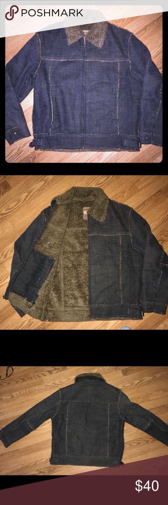Guess Denim/Shearling Jacket Size Small  Super Warm Machine wash/dry Guess Jackets & Coats Bomber & Varsity