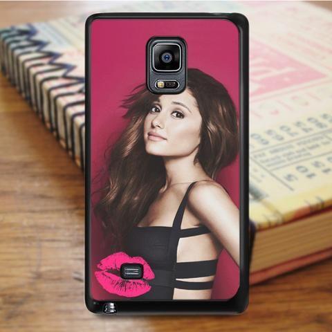Ariana Grande Pink Kiss Samsung Galaxy Note 3 Case