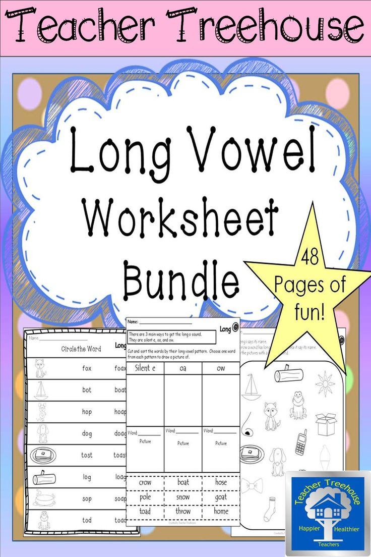 Workbooks long o sound worksheets : 219 best My TpT Products images on Pinterest | Creative teaching ...