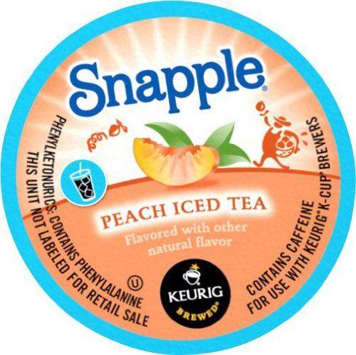 Snapple Peach Iced Tea K-Cups Keurig http://www.amazon.com/dp/B00CXAETEI/ref=cm_sw_r_pi_dp_Yg1Ktb0T2F71H5AW