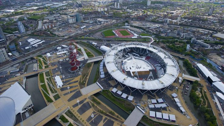London 2012 Olympic Park taken from the airLondon 2012, 2012 Olympics, Olympics Years, Parks Photos, Watcholympics2012Onlin Dots, Aerial Pictures, Olympics Parks