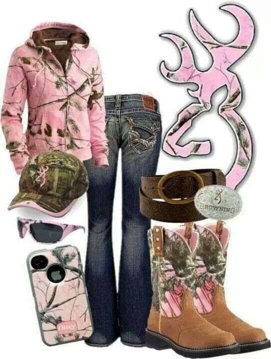 Pink camo ♥