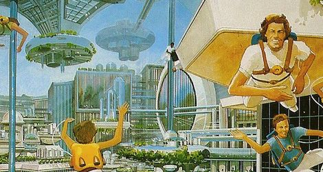 Them, 1977: 10-year-olds predicted solar-powered cars, computers for education, one-push-button controls in the home, female astronauts // Us, 2013: We can control various appliances through remote controls, lights which can be turned on with our smartphone, educational smartboards in every classroom, women on the moon (although we still haven't found life) // From: Paleofuture