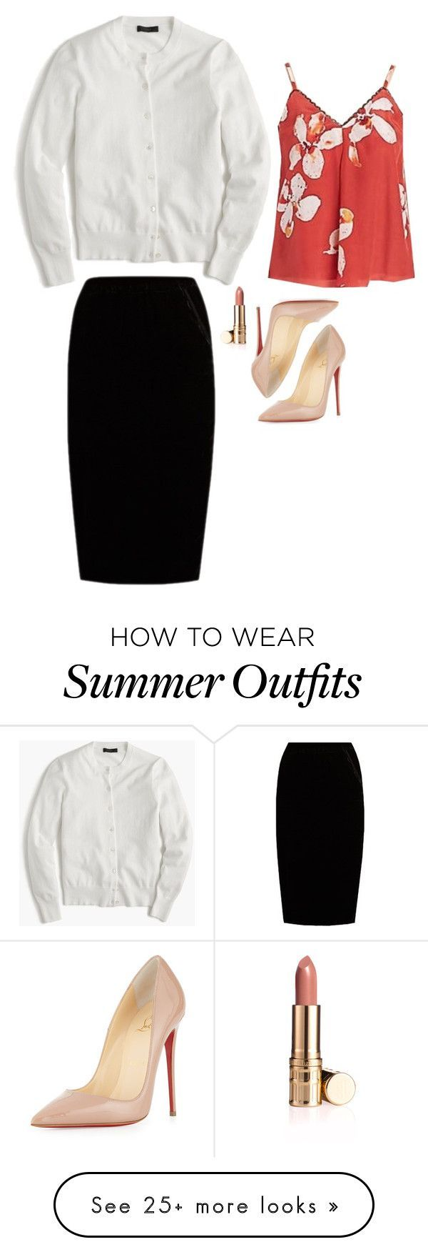"Summer Outfits : ""Caroline Forbes Inspired Outfit"" by daniellakresovic on Polyvore feat"
