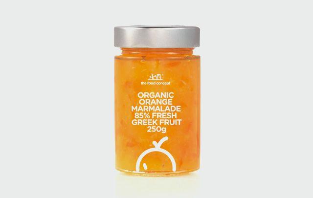 Organic line : Organic Orange marmalade