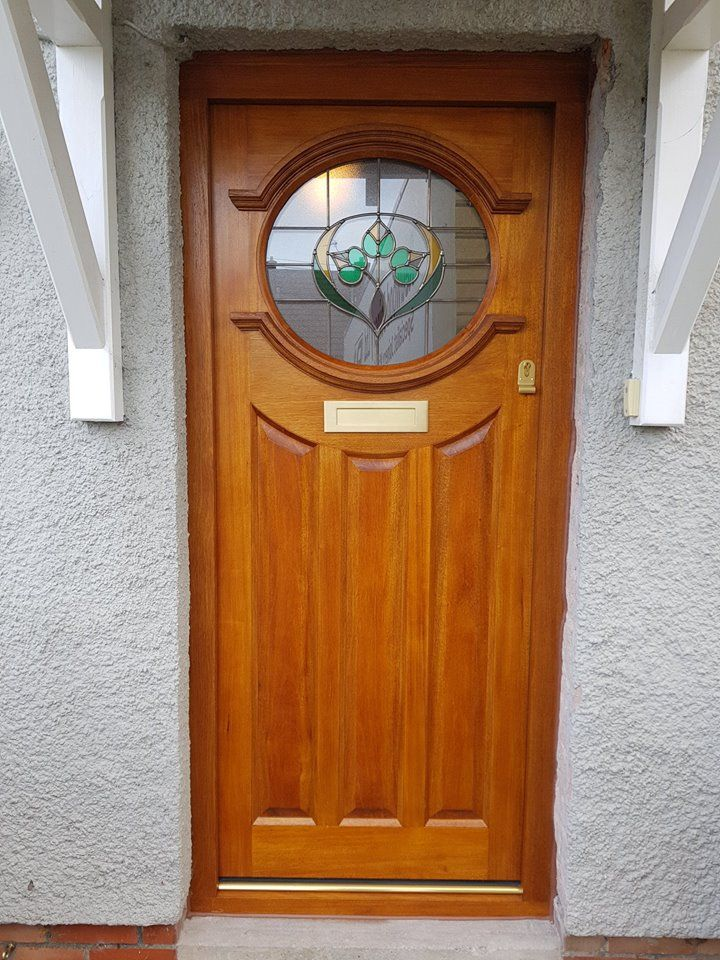 Idigbo Door Frame With A Sikkens Stain Finish Doors Casement Windows Joinery
