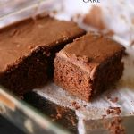 Sunday Chocolate Cake
