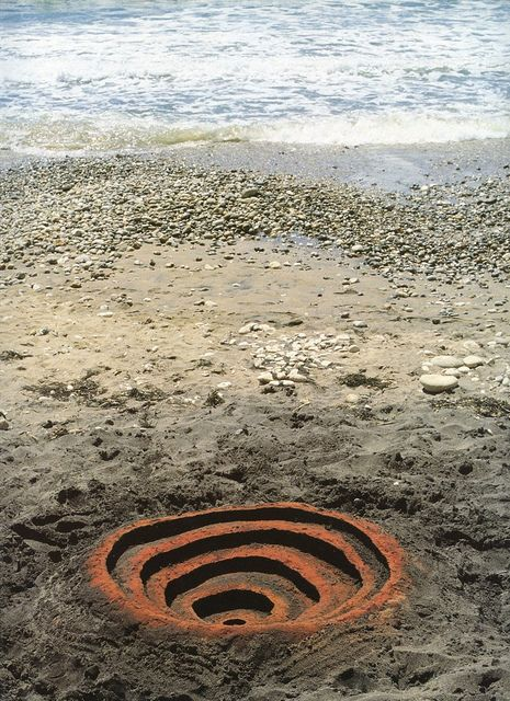 Andy Goldsworthy - dig a hole, find a place that you can look 'underneath' or work underneath a surface.