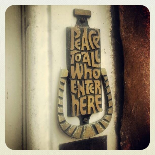Door knocker. Bishops House. Hartlebury Castle #Worcestershire