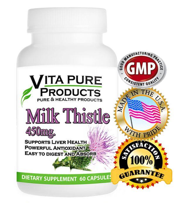 Milk Thistle Extract Supplement